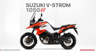 Suzuki V-STROM 1050 XT: La trail más completa de la marca