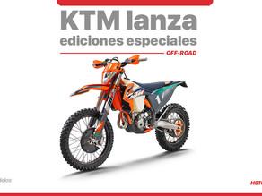 KTM presentó sus ediciones especiales para OFF-ROAD
