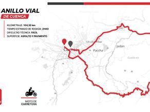 104 kilómetros por el Anillo Vial