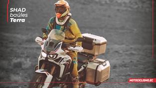 Shad Terra, baúles de aluminio para viajes