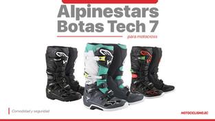 Alpinestars Tech 7, comodidad y seguridad al más alto nivel
