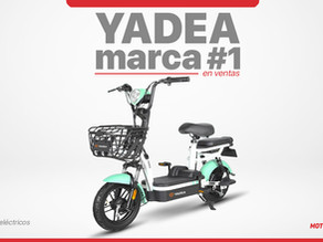 """Yadea, líder mundial en scooters eléctricos, tiene un amplio """"line up"""" en Ecuador"""