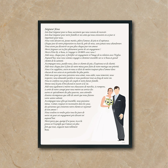 Prière des époux /fiancés