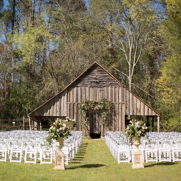 Barn Ceremony Site