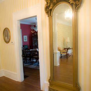 Gold Foyer Mirror