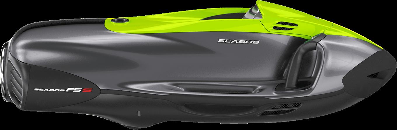 SEABOB F5 S: Bicolour Green