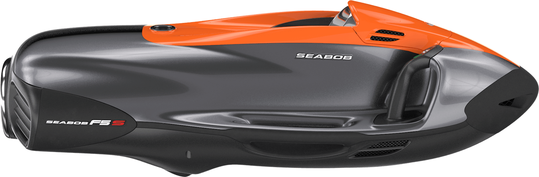 SEABOB F5 S: Bicolour Orange