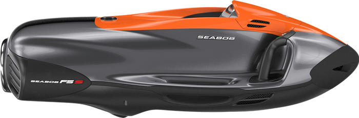 SEABOB F5 S: Bicolour Orange