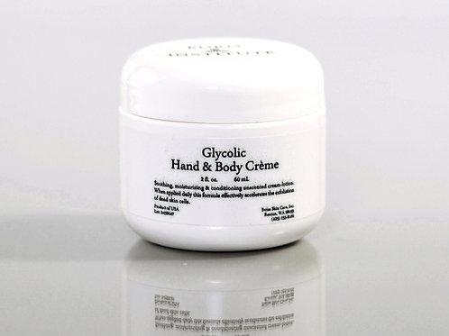 Glycolic Hand & Body Creme