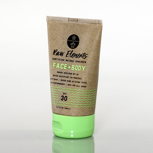 Raw Elements Face & Body SPF 30