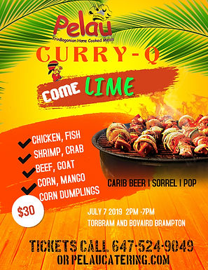 Copy of BBQ Barbeque Party Flyer Templat