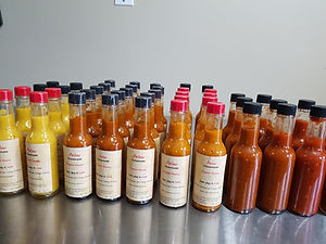 Trinidad hot pepper sauce
