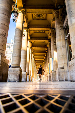 Final Primonial  Parisian Girl walking