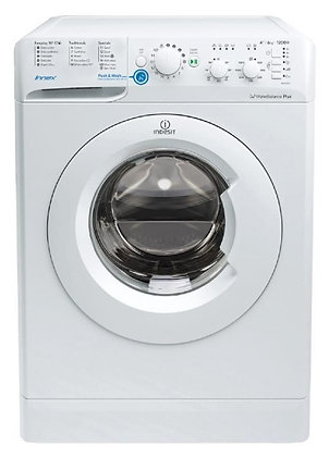 INDESIT 1200 SPIN 6KG WHITE WASHING MACHINE