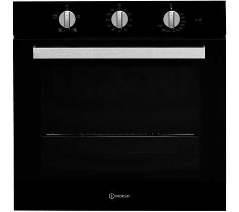 INDESIT Aria IFW 6330 Electric Single Oven - Black