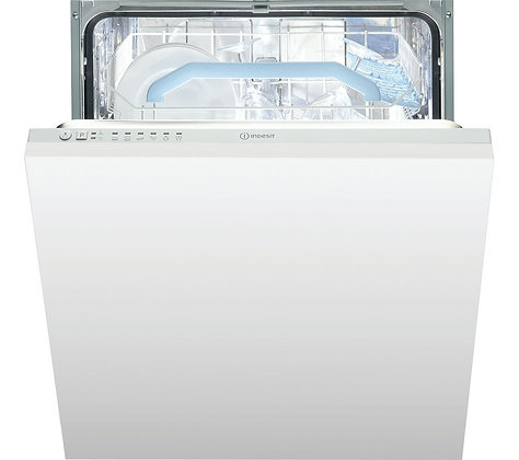 INDESIT Indesit DIF 16B1 Integrated Dishwasher - White