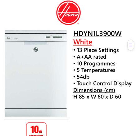 Hoover HDYN1L3900W