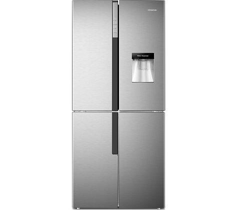 KENWOOD KSBS4DX17 50/50 Fridge Freezer - Inox