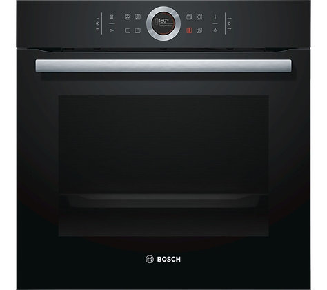 BOSCH Serie 8 HBG634BB1B Electric Oven - Black