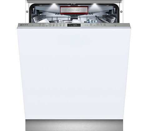 NEFF S515T80D0G Full-size Integrated Dishwasher - Stainless Steel