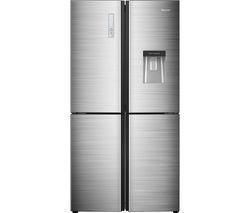 HISENSE RQ689N4BD1 Fridge Freezer - Silver