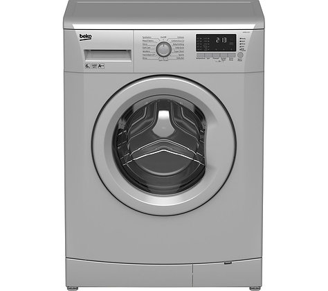 BEKO WMB61432S Washing Machine - Silver