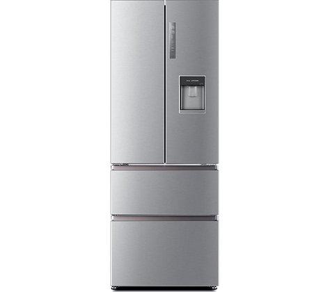 HAIER HB16WMAA 60/40 Fridge Freezer - Stainless Steel