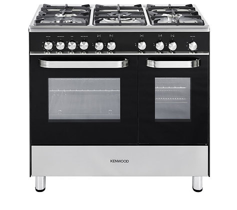 KENWOOD CK405G Gas Range Cooker - Black