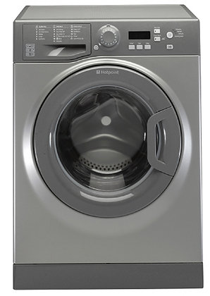 HOTPOINT 1400 SPIN 8KG GRAPHITE WASHING MACHINE Product Code WMBF844G
