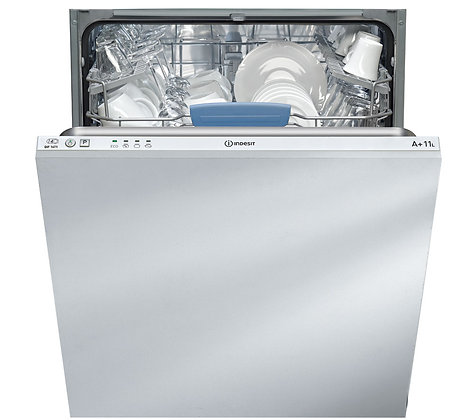 INDESIT DIF14T1 Full-size Integrated Dishwasher