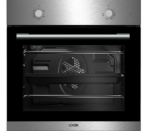 LOGIK LBFANX16 Electric Oven - Stainless Steel