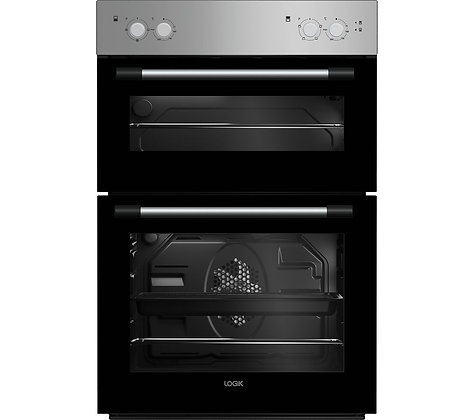 LOGIK LBIDOX18 Electric Double Oven - Silver