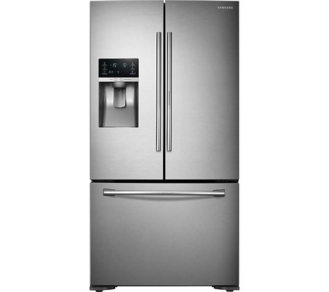 SAMSUNG Food ShowCase RF23HTEDBSR/EU American-Style Fridge Freezer - Stainless S