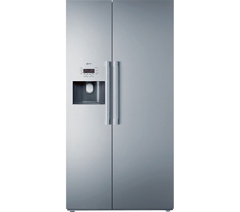 NEFF Series 5 K3990X7GB American-Style Fridge Freezer - Stainless Steel