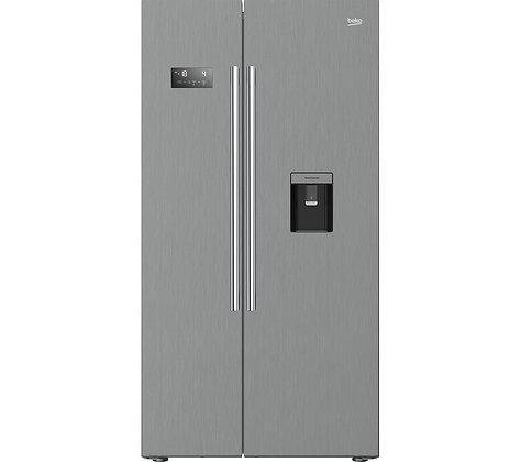 Product features  179 x 91 x 72 cm (H x W x D) Fridge: 364 litres / Freezer: 190