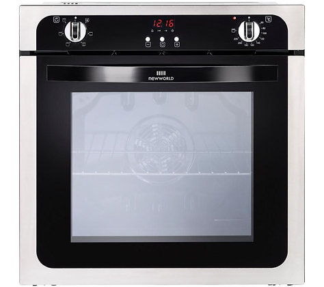 NEW WORLD NW602FP STA Electric Oven - Black & Stainless Steel