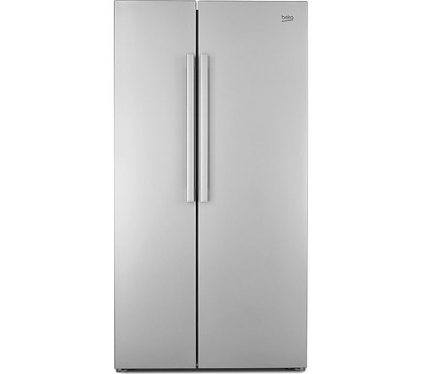 BEKO RAS121LS American-Style Fridge Freezer - Silver