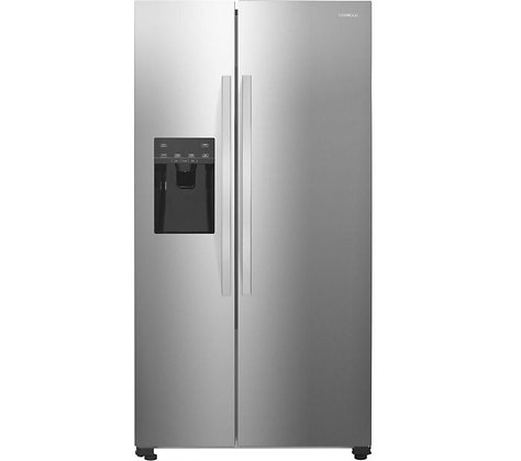 KENWOOD KSBNDIX18 American-Style Fridge Freezer - Inox