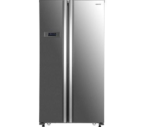 KENWOOD KSBSX17 American-Style Fridge Freezer - Inox