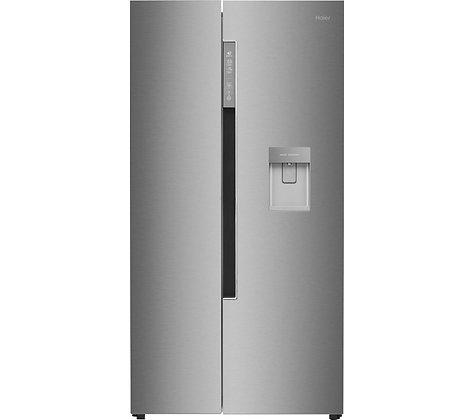 HAIER HRF-522IG6 American-Style Fridge Freezer - Silver