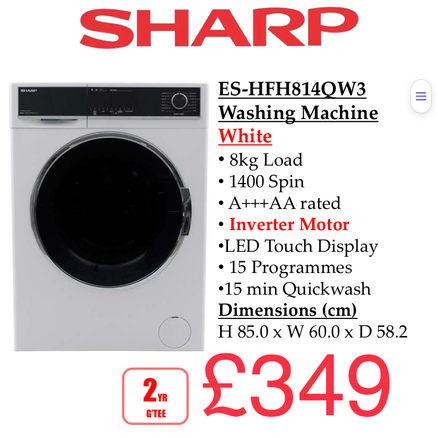 SHARP ES-HFH814OW3