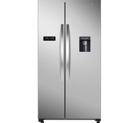KENWOOD KSBSDX19 American-Style Fridge Freezer - Inox