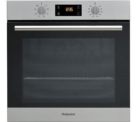 HOTPOINT Class 2 SA2 544 C IX Electric Single Oven - Stainless Stee