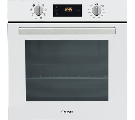 INDESIT Aria IFW 6340 WH Electric Oven - White