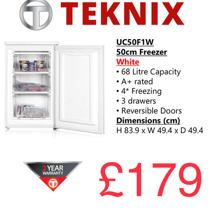 TEKNIX UCS50F1W