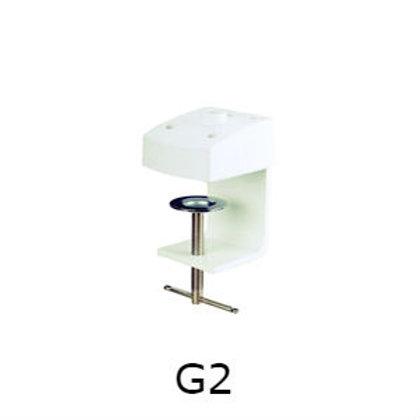 התקן שולחני מחוזק למנורת הגדלה