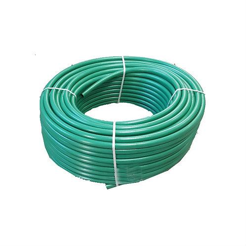 """מריכף צינור 100 מטר כפיף ירוק 20 מ""""מ"""