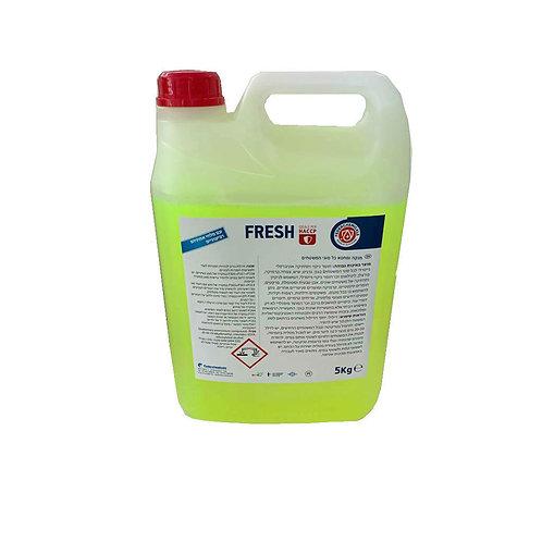 חומר ניקוי וחיטוי לכל סוגי המשטחים 5 ליטר FRESH