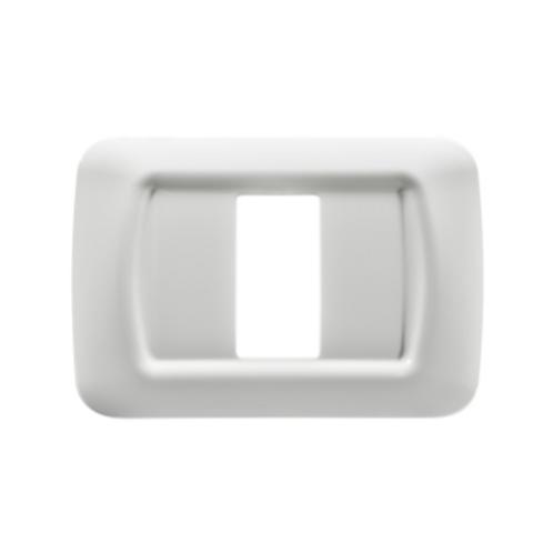 מסגרות גוויס SYSTEM - מסגרת לבנה 1 מקום