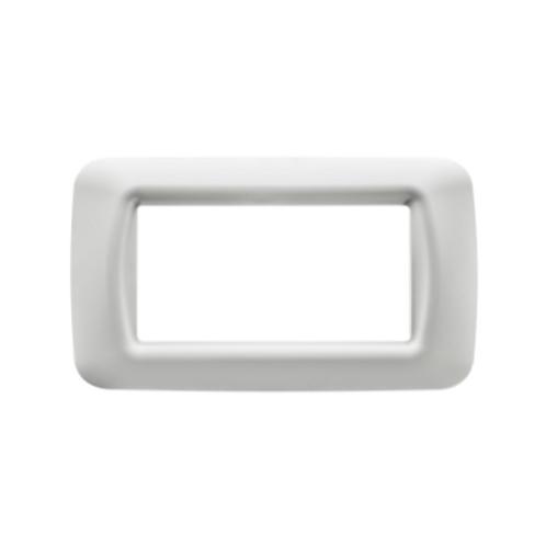 מסגרות גוויס SYSTEM - מסגרת לבנה 4 מקום
